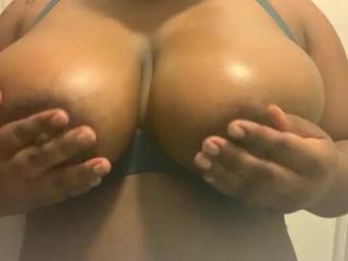Breast tease