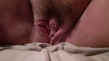 Pulling the panties back out of my pussy