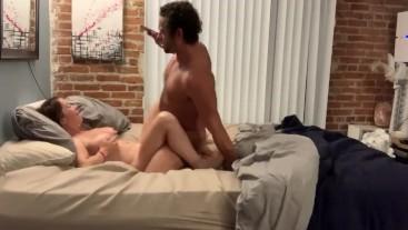 Brad Newman fucks and cums on Bianca Burke after 25 mins
