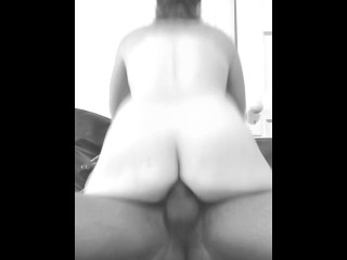 Pawg slams asshole on neighbors bbc