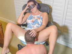Petite Teen MILF Shows You New Dress - Makes You To Eat & Fuck Her