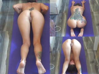 My Morning Naked Yoga Camilla Moon