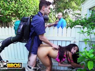 BAOS Ebony Wifey Priya Price Cheats On Husband With The Gardener Priya Price