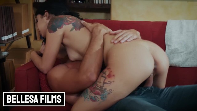 Ryan renyolds porn Bellesa films - cute alt babe gina valentina gets fucked by her hot boss