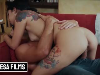 Bellesa Films Cute Alt babe Gina Valentina gets fucked by her hot boss Gina Valentina, Ryan Driller