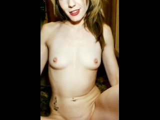 Sexy Pale chick fucks YOU- interactive POV while smoking pot pipe in thong (14 Aug 2019)
