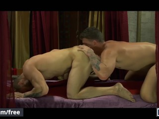 Men.com - Hunks JJ Knight and William Seed ride big cock till they cum (14 Aug 2019)