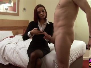 Squirt Briana Banks Fucking, Babe jerks cock In hotel room femdom scene Blowjob Handjob