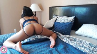 Screen Capture of Video Titled: Asian Pillow Humping