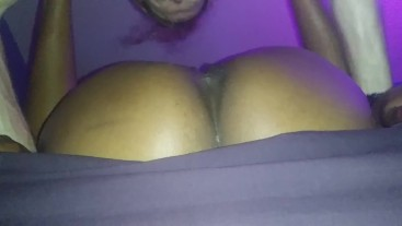 Ebony Goddess Mrs. Jazzy squirts multiple orgasms into Redd's mouth.