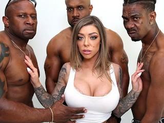 Nasty Young Whores Fucking, KarmA Rx Interracial anal Gangbang Big Dick Big Tits Cumshot Hardcore Po