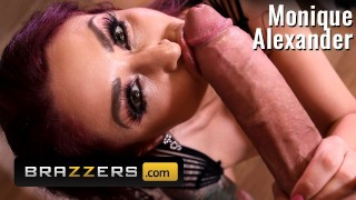 Brazzers – Monique Alexander Finds a big cock spying on her