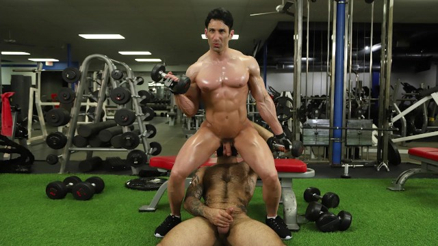 Clip free gay gym Gaywire - atlas grant fucks sir jet at the gym and its spectacular
