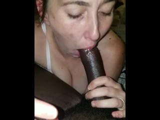 Wife wants me to fuck both of her holes in gagging on my BBC (16 Aug 2019)