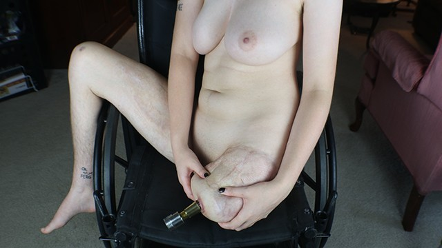 Paraplegic Wheelchair Woman Model Ellen Stohl