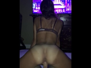 Christ Does it get any better than this(Pigtails, Sloppy Blowjob, Creampie) (16 Aug 2019)