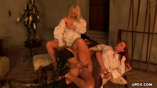 Medieval busty maid Medieval maid, carla cox had a threesome the other day