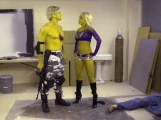 The Simpsons XXX Parody Wolfcastle Gets Some Action HD Briana Blair, Evan Stone