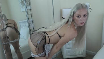 CEI Maid Wants YOU TO Clean Your Cock