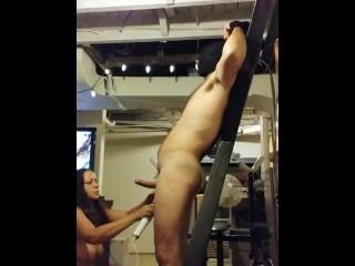 FEMDOM Cock and Ball Torture Bondage Cassandra Minx