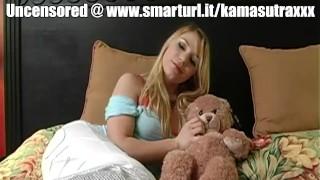 Sexy Aurora Loves her New Teddy Bear (SFW Version)