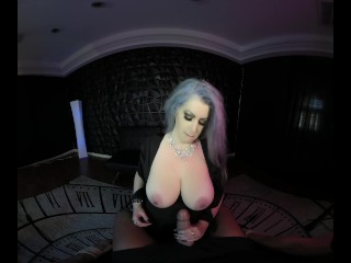 Deeply Mesmerized Hands Free Orgasm with HandTit Job in D VR K POV