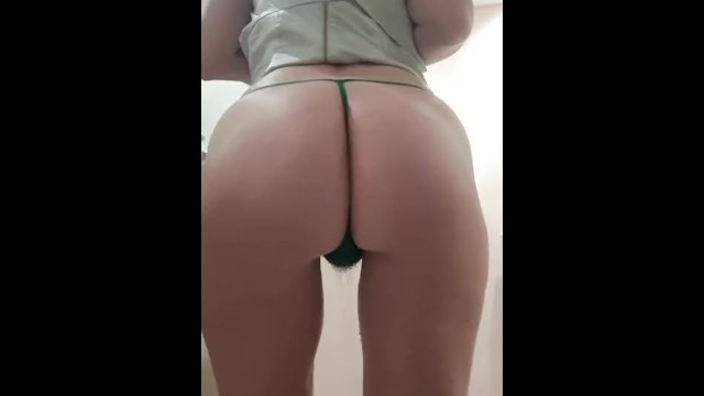 Teens in cotton thongs - Peeing cotton g strings, bubbling