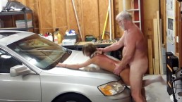 Dee Silver Gets Fucked On A Car