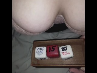STEP DAUGHTER LET'S STEP DAD ROLL HER SEX DICE... SEE WHAT HE ROLLS!!!