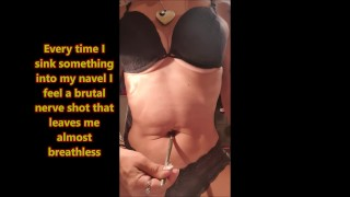 Belly button attack, delicious navel torture - Short
