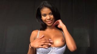 PropertySex - Hot ebony babe with amazing natural tits fucks landlord