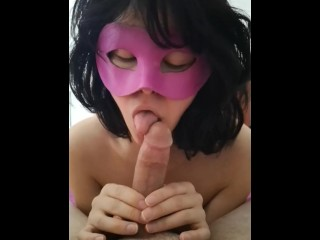 MORNING WITH A GENTLE BLOWJOB AND LIZ WHO CLEAN IT ALL