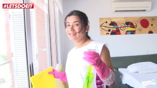 MAMACITAZ - Nasty Colombian Cleaning Lady Camila Marin Gets Fucked POV