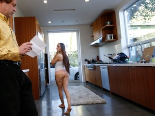 BAOS Jessica Buys Her StepFathers Silence With Her Pussy Jessica Lynn