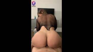 Reverse cowgirl anal, ass to mouth