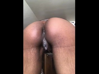 Ebony Upskirt Fun (21 Aug 2019)