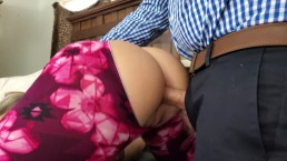 PAWG Wife Cheats with Boss taking it in the Ass