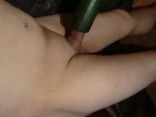 Cucumber Wanking