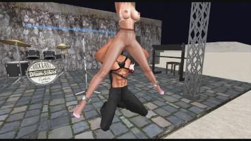 Pantyhose BDSM: Suspension Phantasy