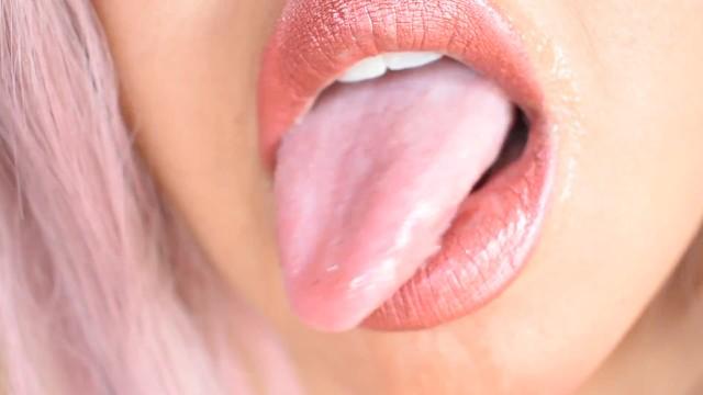 ASMR Sensual Mouth and Tongue