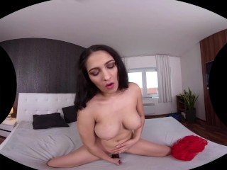 SinsVR – 180 VR Porn – Ava Black – Dildo; Busty Brunette Solo