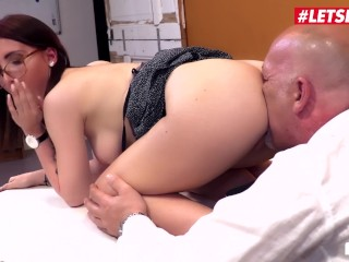 LETSDOEIT - Slutty German Secretary Gets All Wet On Her Bosses Cock (21 Aug 2019)