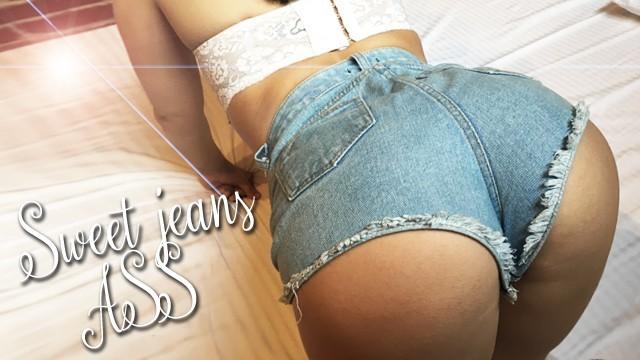 порно лесбиянки в джинсовых шортах