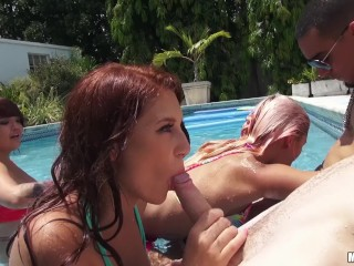 Sexvideo Vuclip Wife Fucking, Threesome Pose With Two Men One Woman Mp4 Video