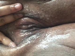 Exclusive/female orgasm/fat fluffy pussy fat
