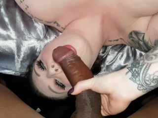 HARMONY REIGNS UPSIDE DOWN BBC BLOWJOB