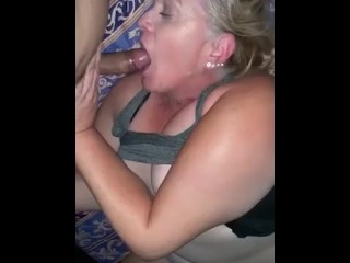 Hot milf fucks the plumber horny couple 3some butt big boobs mom mother big ass big tits blonde