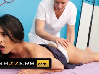 Brazzers Tigh Latina Sophia Leone gets a massage with a side of cock Justin Hunt, Sophia Leone