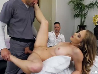 Anastasia Lux Instagram Fucking, Cucked Husbands Hot Blonde Wife Fuck The Fat Cock Of the Masseuse