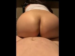 Young Latina ass bouncing on dick (23 Aug 2019)